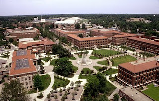 Purdue University,  Aerial Shot of West Lafayette Campus
